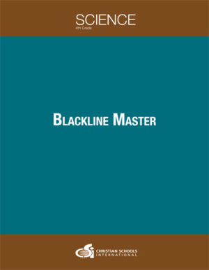 Science 2nd Edition - Electronic Blackline Masters (Grade 4)