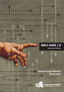 4th-6th grade student bible textbook - bible guide