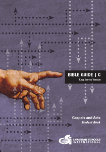 4th-6th Grade Bible Study textbook