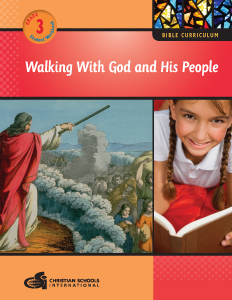 Walking With God and His People - Bible Workbook (Grade 3)
