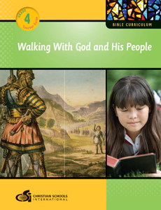 Walking With God and His People – Teacher Guide (Grade 4)