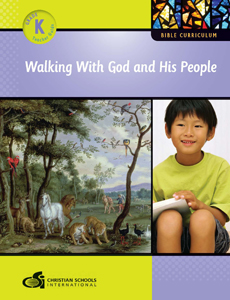 Walking With God & His People – Teacher Guide (Kindergarten)