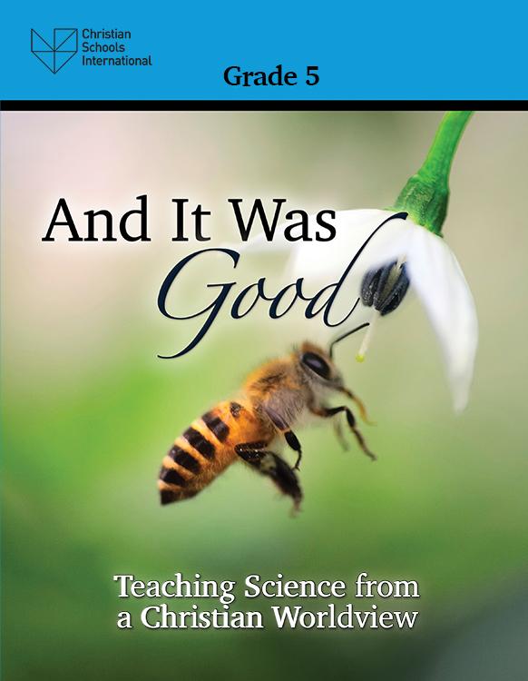 And It Was Good - Teacher Resource (Grade 5)