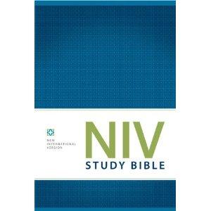 NIV Study Bible 2011 Edition